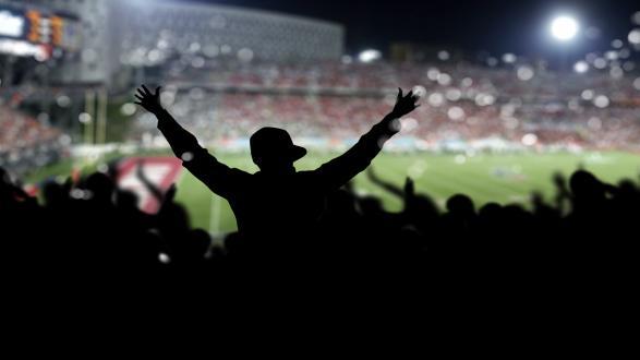 Tilskuer til fodbold
